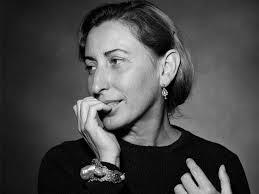 Miccia Prada: frases y dichos sobre el Trabajo, Arte, Política,…