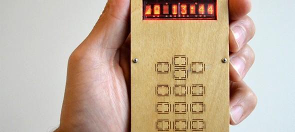 Idea № 557. El teléfono inteligente de David Milles que se puede montar por completo en casa