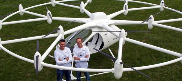 Idea № 563. Volocóptero  E-volo VC200: el multicóptero eléctrico completamente ecológico