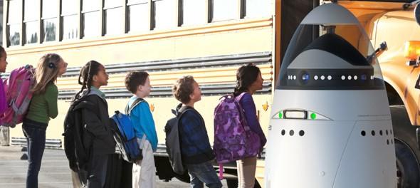 Idea № 558. El robot K5 Autonomous Data Machine de guardería de la la empresa Knightscope