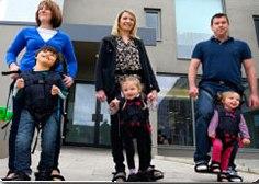 Idea № 732. Firefly Upsee: el andador para niños con parálisis cerebral