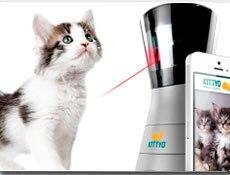 Idea № 788. Kittyo: el sistema inteligente de control remoto para entretener y alimentar a tu gato
