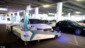 Idea № 767. RAY: el robot-aparcador de automóviles