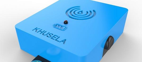 Idea № 961. KHUSELA: el detector de calor contra incendios