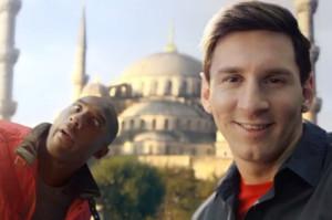 Kobe y Messi