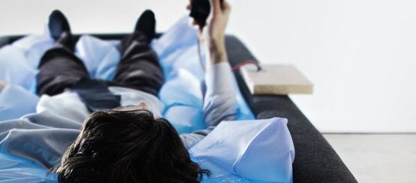 Idea № 967. Zerobody: La cama con el efecto de ingravidez